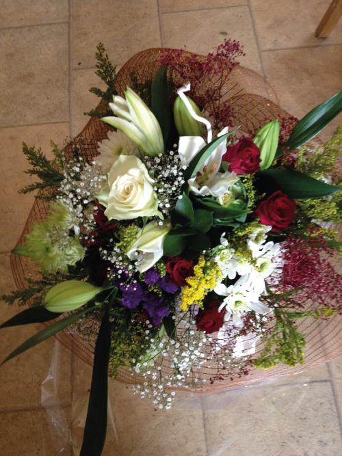 Beautiful Flower Arrangements in Galway